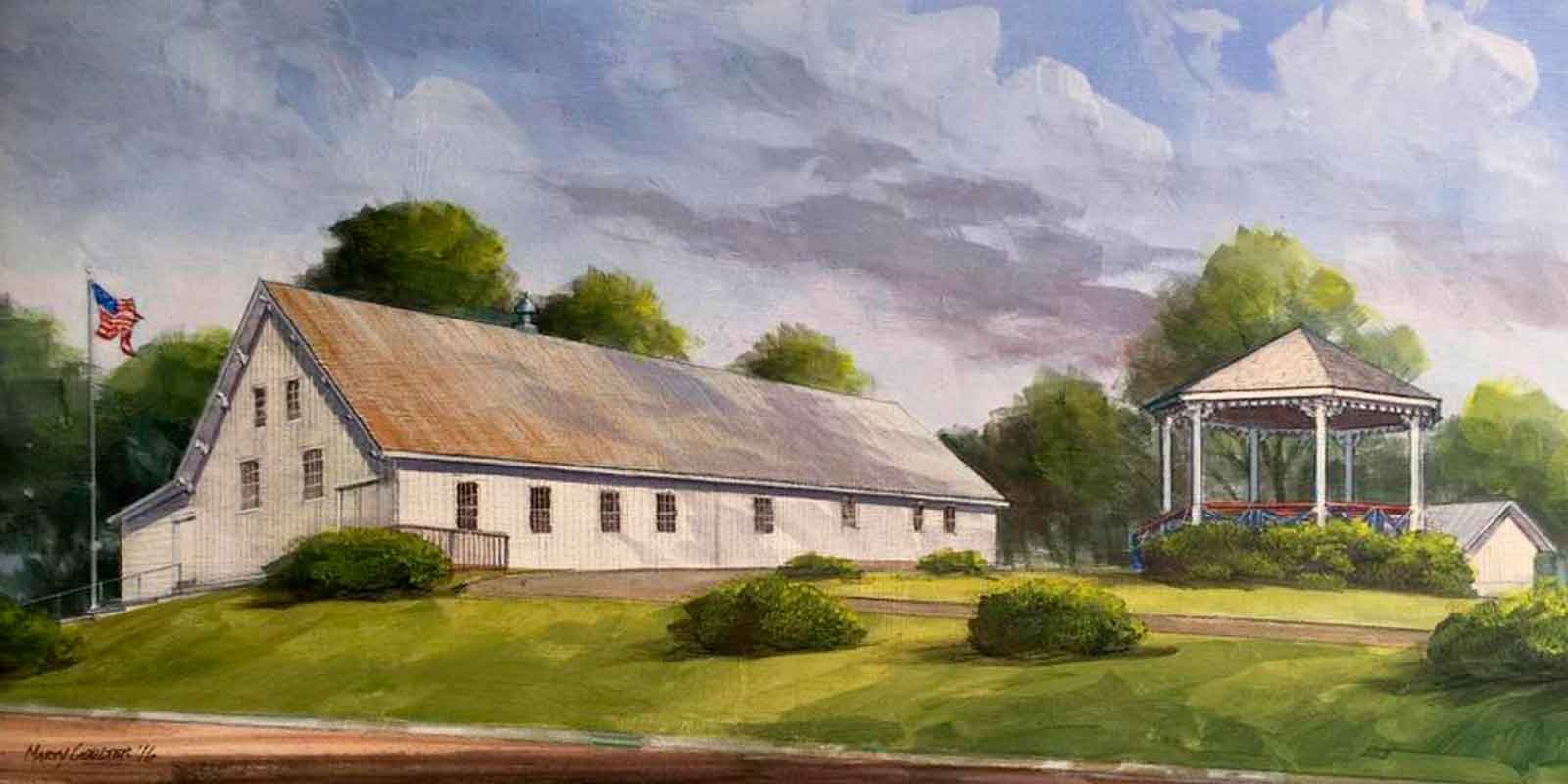 Augusta Heritage Foundation painting