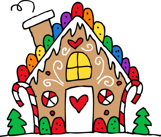 cute gingerbread house clipart PL1WZ9.tmp